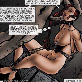 Sexy red War Reporter by SPINNER gets - BDSM Art Collection - Pic 2