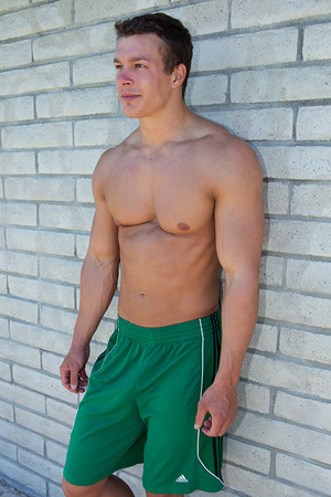 Sexy muscular guy adores demonstrating h - XXX Dessert - Picture 21