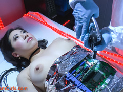Gorgeously black haired fembot nakedly being pussy - XXXonXXX - Pic 11