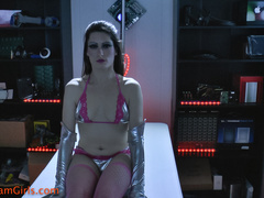 Sexually manipulated female robot being ticklishly - XXXonXXX - Pic 4
