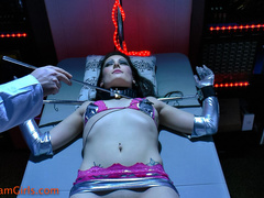 Sexually manipulated female robot being ticklishly - XXXonXXX - Pic 8