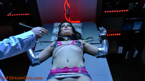 Sexually manipulated female robot being ticklishly cunt checked - XXXonXXX - Pic 8