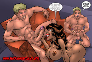 Ebony bitch fucking with her sons-in-law - XXX Dessert - Picture 5