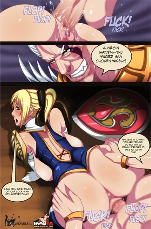 Manga fairy drilled hard in doggy style - XXX Dessert - Picture 4
