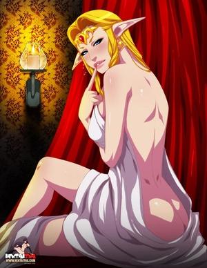 Nasty fairy blondie gets her cunt creamp - XXX Dessert - Picture 1