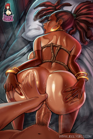 Brunette bitch takes thick meat into her - XXX Dessert - Picture 6
