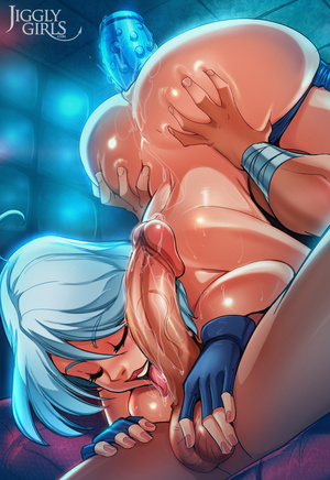 Red toon babe assfucked badly by a huge  - XXX Dessert - Picture 5