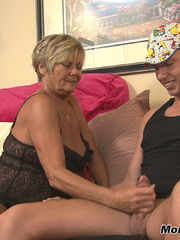 Nymfo Granny Handjob - Neighborly 60 YEAR OLD Mrs. - XXXonXXX - Pic 4