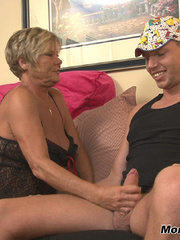Nymfo Granny Handjob - Neighborly 60 YEAR OLD Mrs. - XXXonXXX - Pic 5