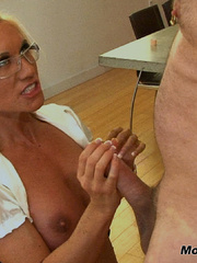 Mom wants more CUM blasting out of her son's best - XXXonXXX - Pic 16