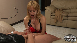 HOT as hell 40 Yr. OLD MOM TONYA is FLIRTING and COCK TEASING her best friendi??s Son Rocky. He's grown up into such a big strong boy! - XXXonXXX - Pic 6