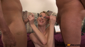 TINY YOUNG Ember has been a NAUGHTY GIRL!! She's been playing with 2 GUYS but now they both found out and they're pissed! - XXXonXXX - Pic 13