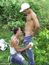 A handsome horny latino boy whips out his extra…
