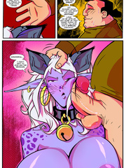 Busty magic cat-girl banged variously by a - XXX Dessert - Picture 5