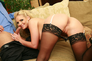 Two hot swinger wives get into lesbian a - XXX Dessert - Picture 6