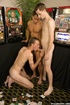 Hot group orgy as three guys enjoy hot dick sucking and fucking as friend
