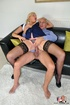 Sexy blonde in uniform opens off to show tits and…