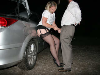 Blonde prostitute in black stockings and high - XXXonXXX - Pic 2