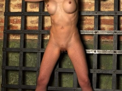 Horny and very naked blonde virgin shows vexation - XXXonXXX - Pic 1