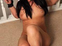 Busty big assed brunette virgin struggles against - XXXonXXX - Pic 7