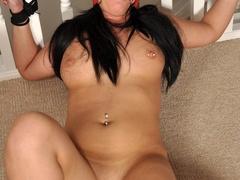Busty big assed brunette virgin struggles against - XXXonXXX - Pic 10