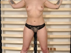 Fiesty red haired virgin struggles against her - XXXonXXX - Pic 1
