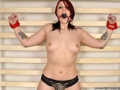 Fiesty red haired virgin struggles against her - XXXonXXX - Pic 7