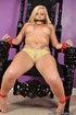 Big boobed blonde virgin gets gagged and tied up…
