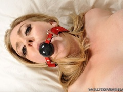 Blonde slutty virgin teases helplessly while cross - XXXonXXX - Pic 12