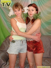 Two delightful teens lick each other's pussy then - XXXonXXX - Pic 1