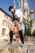 Naughty school girl who is outdoors felt she just…