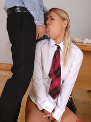Gagged with her panties, a naughty coed slut is - XXXonXXX - Pic 4