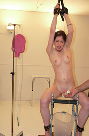 pigtailed teeny cuffed stool