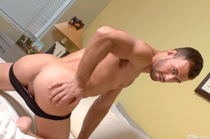 A hunk of a guy, this model shows off hi - XXX Dessert - Picture 2