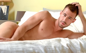 A hunk of a guy, this model shows off hi - XXX Dessert - Picture 6