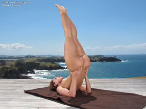 Alluring sporty bitch shows how flexible - XXX Dessert - Picture 10