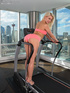 Lusty blonde  loves to tease using different sex…
