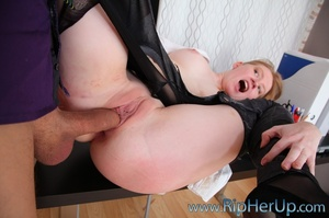 Young boss fucking his pretty ginger sec - XXX Dessert - Picture 5