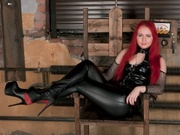 redhead dominatrixiren willing perform