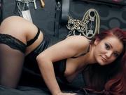 redhead delia willing perform