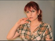redhead alina willing perform