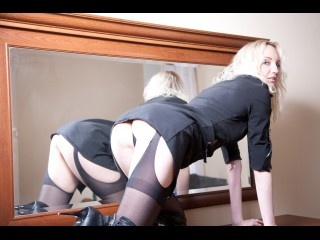 blonde evabrown perform anal
