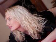 blonde evabrown willing perform