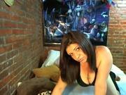 brunette jhoanna willing perform