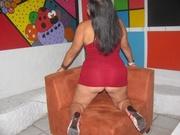 brunette pamela willing perform