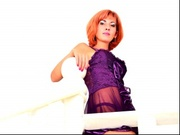 redhead xenia willing perform
