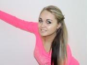 blonde alena willing perform