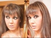 brunette spanishstar willing perform
