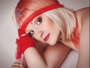 blonde vera willing perform