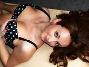 brunette emmacharlotte willing perform
